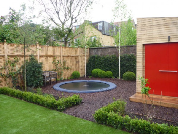 chiswick designed by johanna woolford gibbon - Garden Design With Trampoline